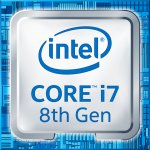 Intel Logo ci7 8. Generation