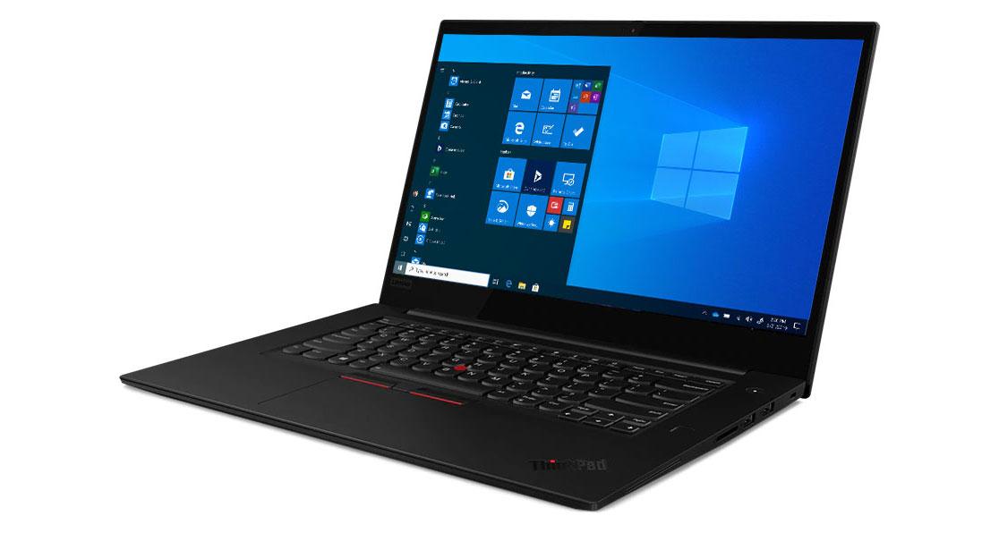Lenovo ThinkPad X1 Extreme Gen2 left