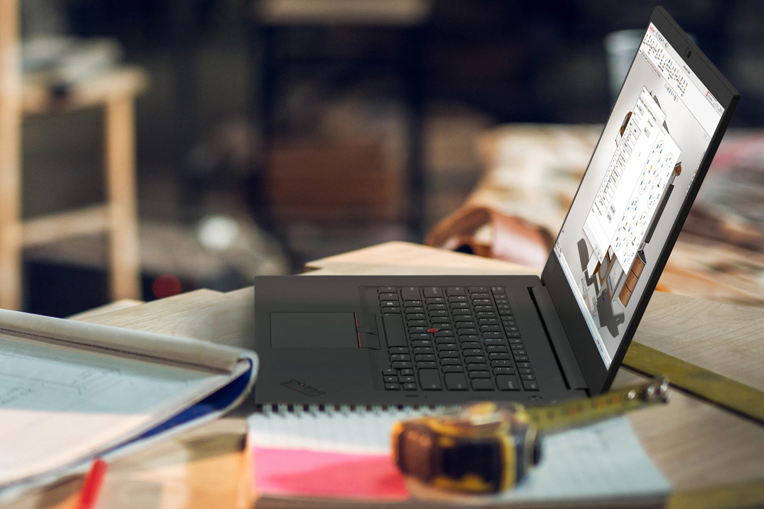 Lenovo ThinkPad P1 Lifestyle
