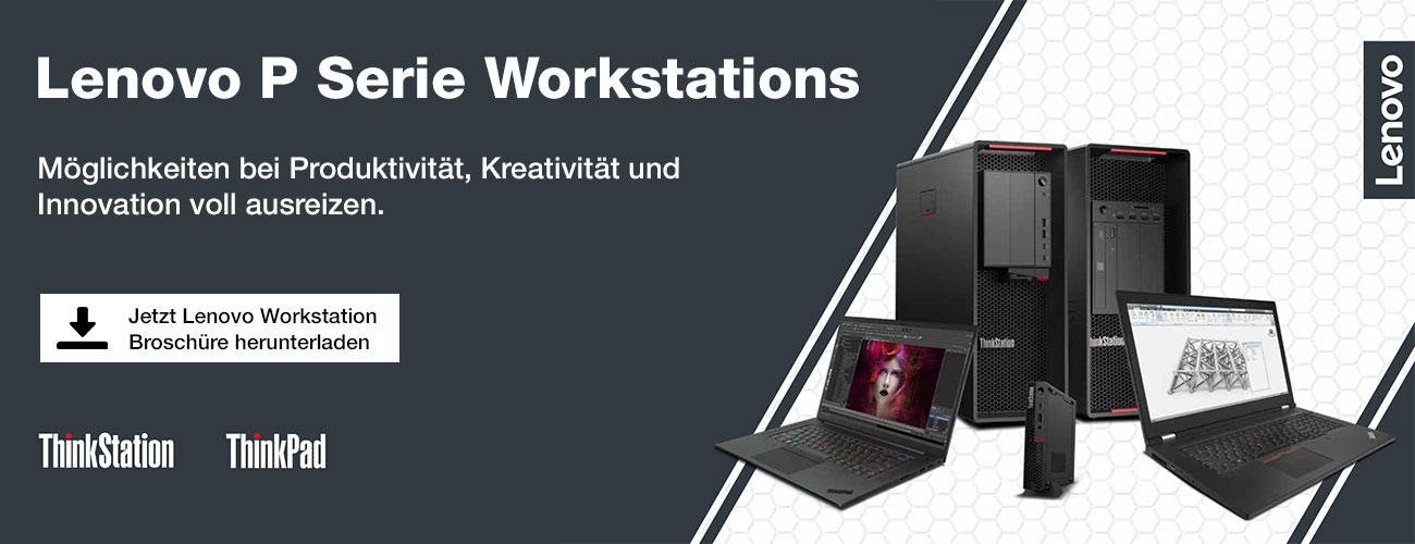 Lenovo Workstation Broschüre 2021